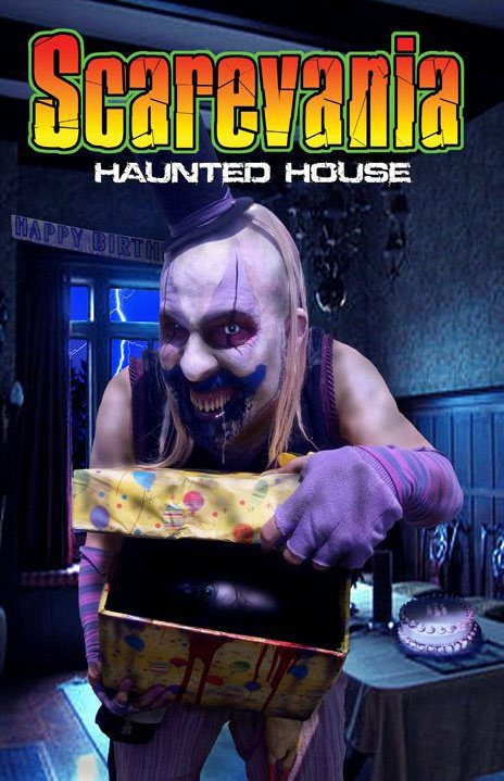 Scarevania Haunted Attraction 2010 Poster