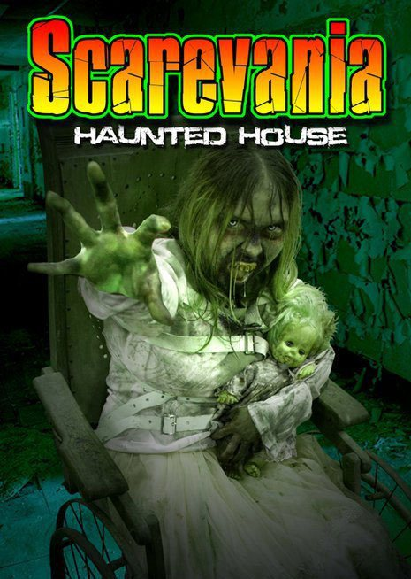 Scarevania Haunted Attraction 2011 Poster