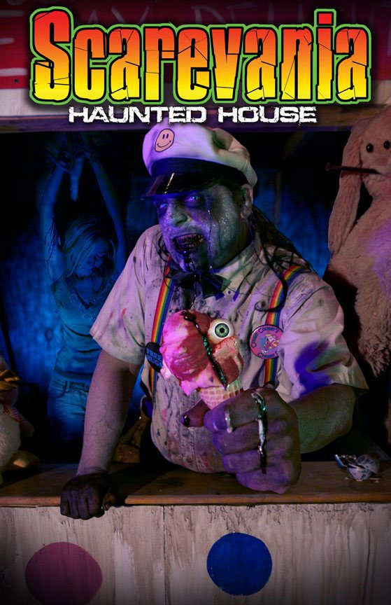 Scarevania Haunted Attraction 2012 Poster