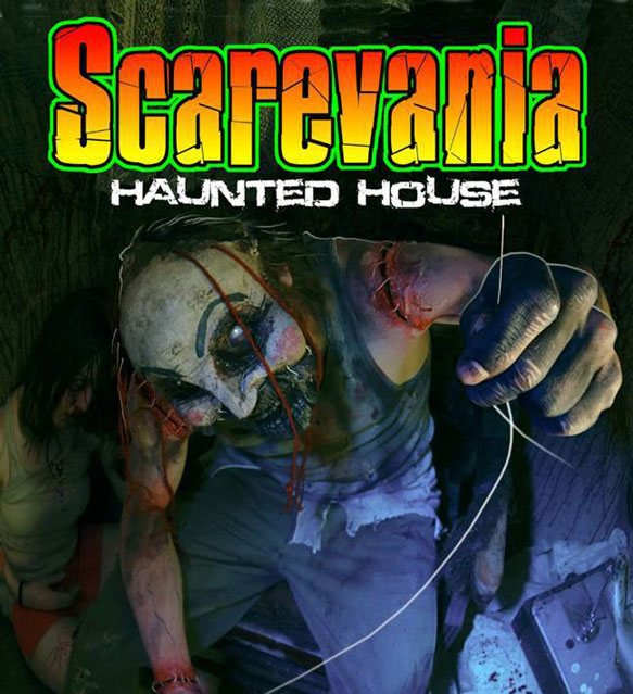 Scarevania Haunted Attraction 2013 Poster