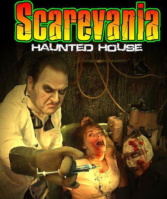 Scarevania Haunted Attraction 2014 Poster