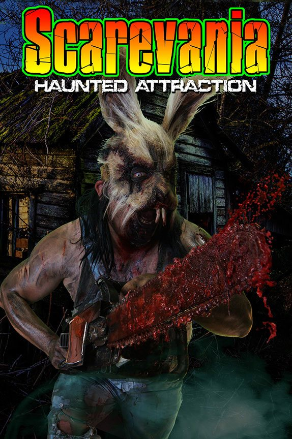 Scarevania Haunted Attraction 2015 Poster