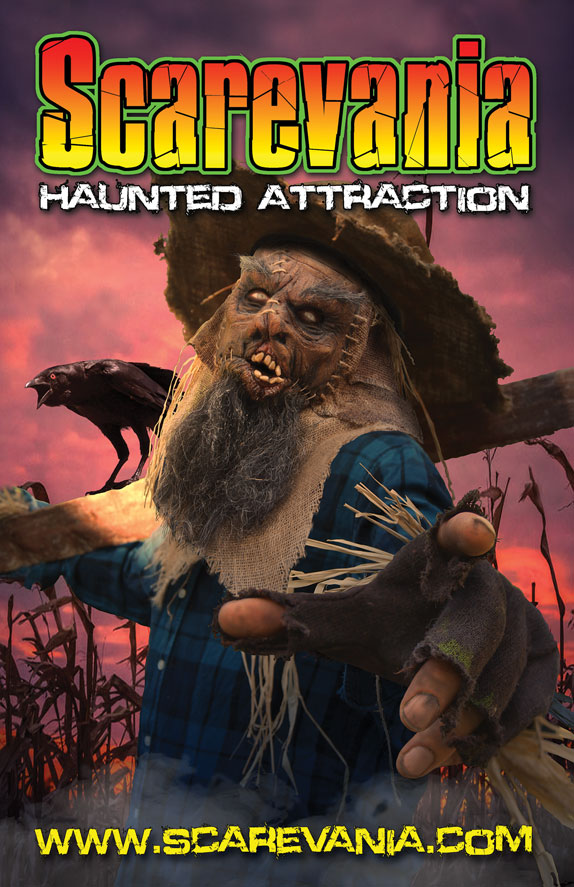 Scarevania Haunted Attraction 2019 poster