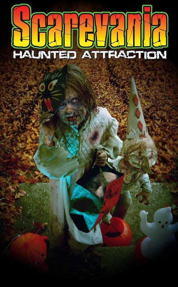 Scarevania Haunted Attraction 2016 poster