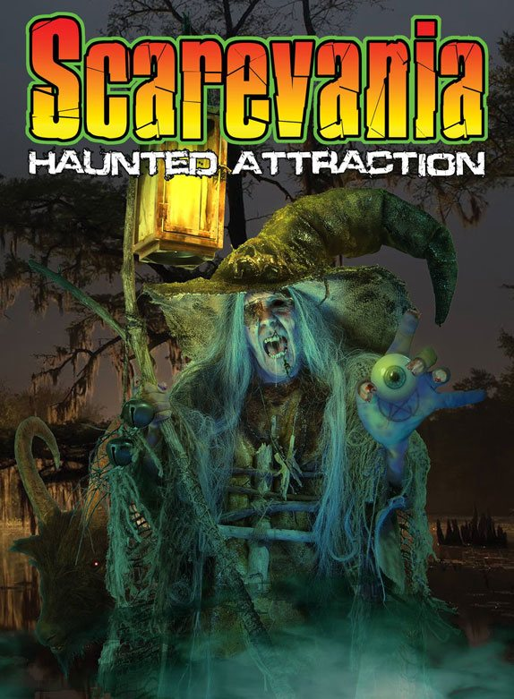 Scarevania Haunted Attraction 2017 poster